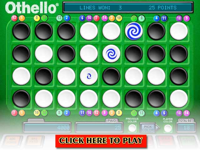 Click to Play Othello Video Slots